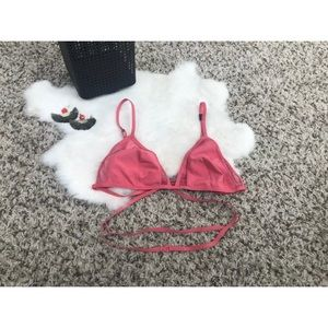 Victoria's Secret Intimates & Sleepwear - VS Bra Bralette Unpadded Lined Triangle  Sz M